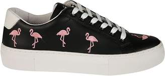 Moa Embroidered Flamingo Sneakers