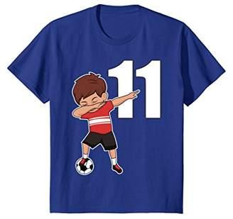 Soccer Shirt for Boys Number 20 Funny Dabbing T-Shirt Dab