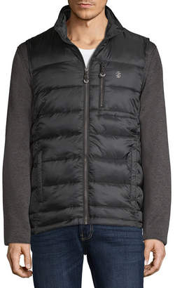 Izod S Rothschild Puffer Vest Systems Jacket With Zip Out Sweater