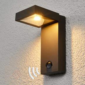 Außenwandlampe Toska mit LED und Sensor