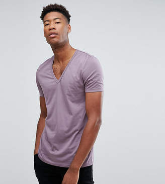 Asos Tall T-Shirt With Deep V