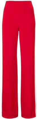 ADAM by Adam Lippes side-striped wide-leg trousers