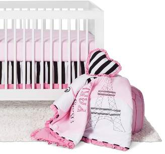 JoJo Designs Sweet Paris 11pc Crib Bedding Set - Pink