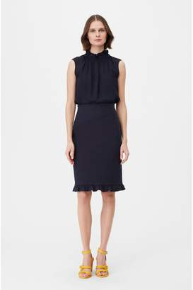 Rebecca Taylor Tailored Stretch Modern Suiting Skirt