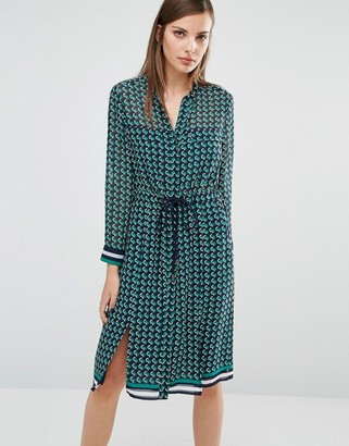 Whistles Shirt Dress in Foulard Print $196 thestylecure.com