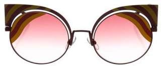 Fendi Cat-Eye Tinted Sunglasses w/ Tags