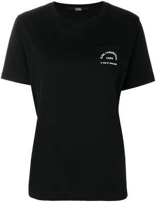 Karl Lagerfeld logo pocket T-Shirt