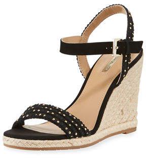 Tahari Walsh Studded Wedge Sandal