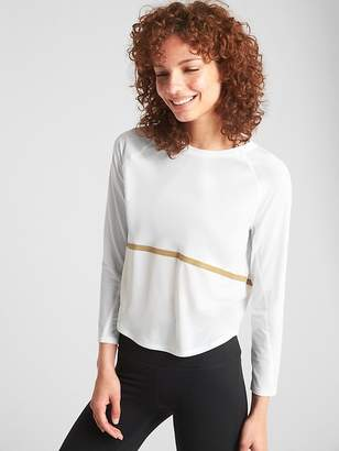 Gap GapFit Running Top with Reflective Detail