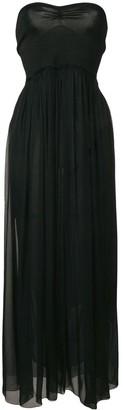 Forte Forte black strapless dress