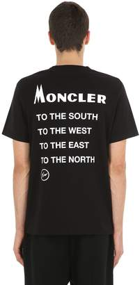 Moncler 7 Fragment Cotton Jersey T-Shirt