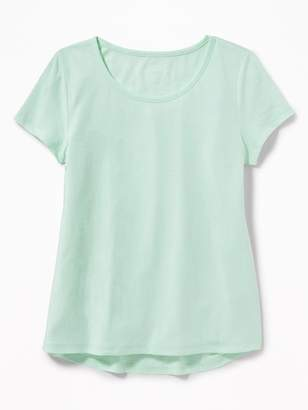 Old Navy A-Line Soft-Washed Swing Tee for Girls