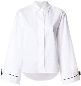 MM6 MAISON MARGIELA concealed buttoned shirt