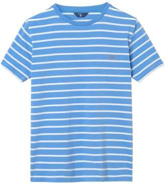 Gant Boys Breton Stripe Logo T-Shirt