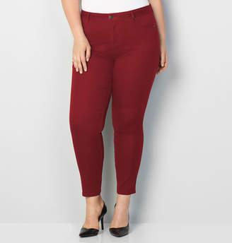 Avenue Butter Denim Skinny Jean in Rust