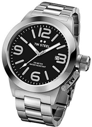 TW Steel 'Canteen' Quartz Stainless Watch