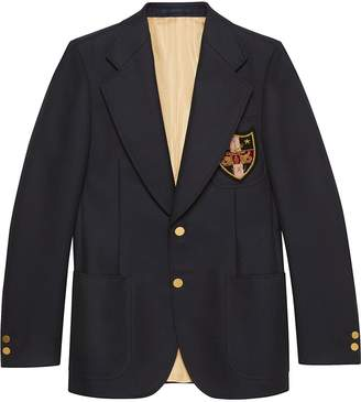 d5bdb692b Gucci Blue Blazers & Sport Coats For Men - ShopStyle UK