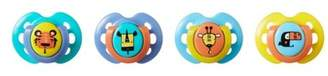 Tommee Tippee Closer To Nature Fun Style Baby Pacifier - 4pk