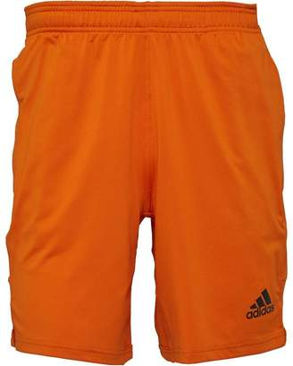 adidas Mens Speedbreaker Climalite Prime Shorts Tactical Orange