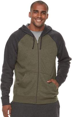 Tek Gear Men's Ultra Soft Fleece Basic Full-Zip Hoodie