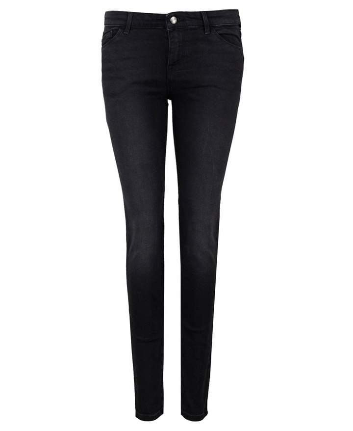 Mid Rise Skinny Push Up Jeans