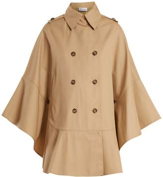 RED Valentino Double-breasted trench cape