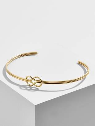 BaubleBar Infinito 18k Gold Plated Cuff Bracelet
