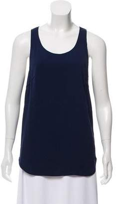 CNC Costume National Silk-Blend Sleeveless Top
