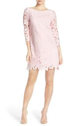 Felicity & Coco Belza Floral Lace Shift Dress