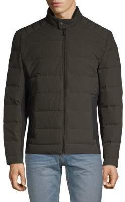 Michael Kors Full-Zip Down Jacket