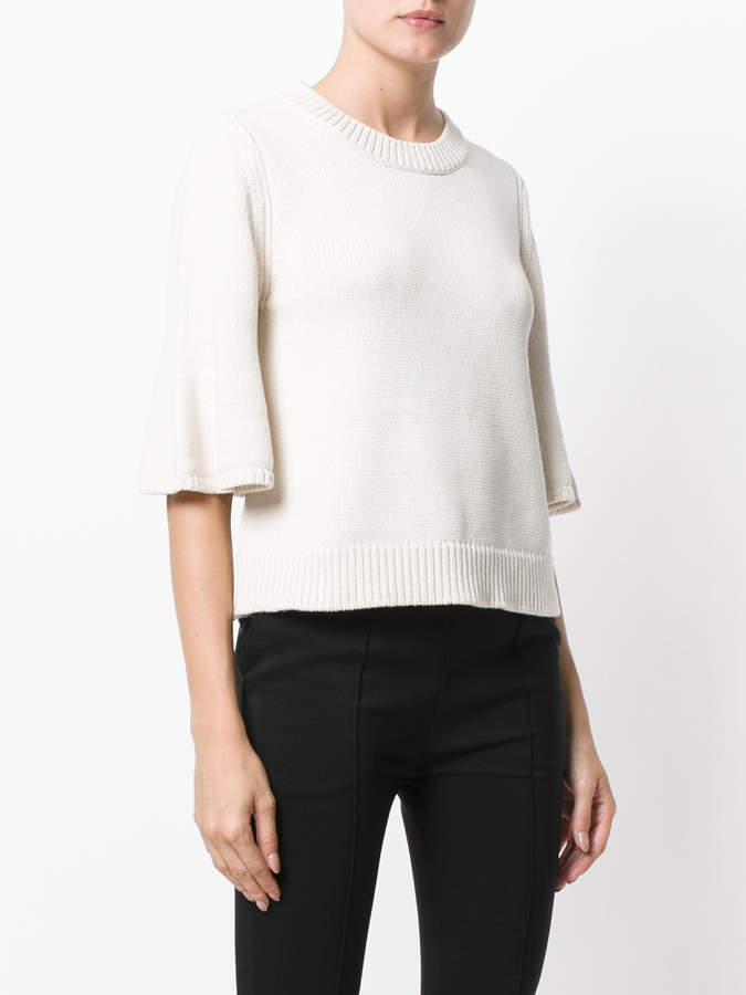 See by Chloe flared cuff sweater