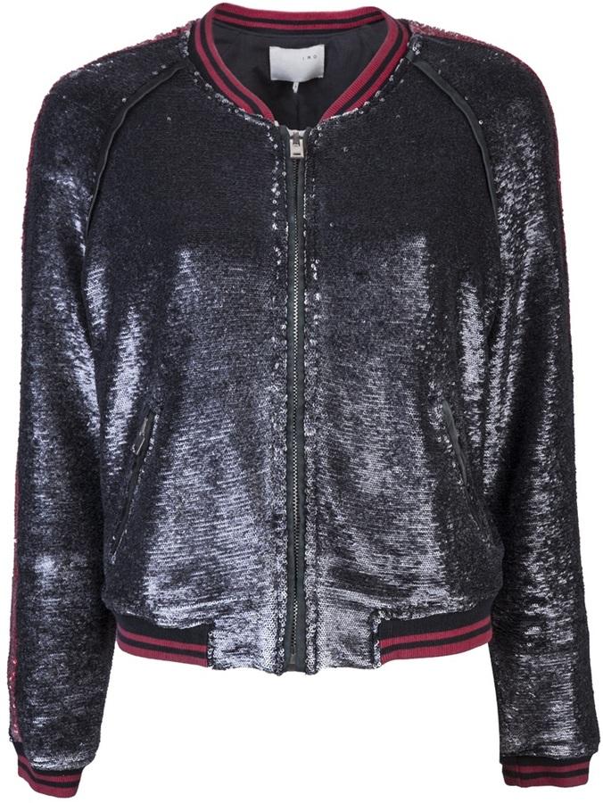IRO Queeny varsity jacket