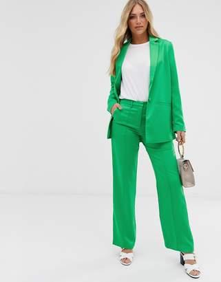 Vila wide suit trousers