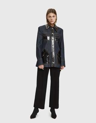 Ellery Spector Slim Denim Jacket