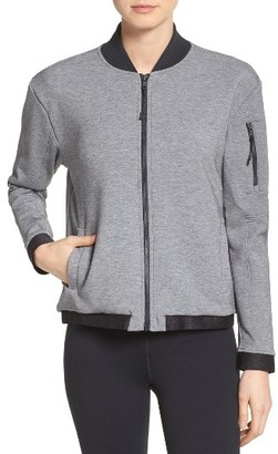 Women's Under Armour Luster Bomber Jacket $159.99 thestylecure.com
