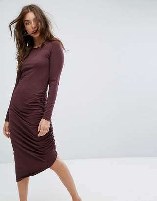 Noisy May Ruched Detail Dress