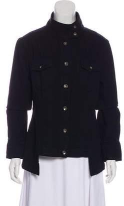 Rag & Bone Stand Collar Denim Jacket