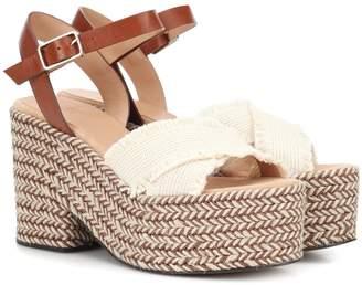 de6c4089a1 Castaner Xareni canvas wedge sandals