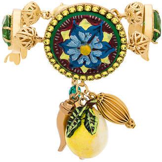 Dolce & Gabbana Majolica charm bracelet