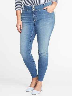 Old Navy Smooth & Slim Plus-Size Built-In Sculpt High-Rise Rockstar Jeans