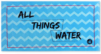 "Body Glove All Things Water Cotton 36"" x 70"" Graphic-Print Beach Towel Bedding"