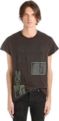 Madeworn X Jay Z Politics As Usual Cotton Jersey T-Shirt