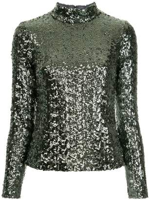 Alexis sequin embellished top