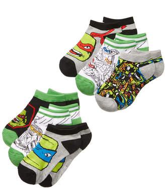 Ninja Turtles 6-Pk. No-Show Socks, Toddler Boys & Little Boys