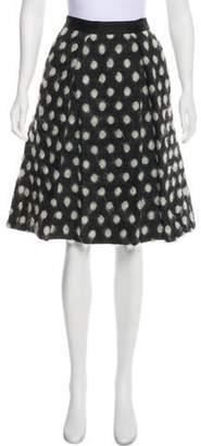 Prabal Gurung Polka Dot Knee-Length Skirt
