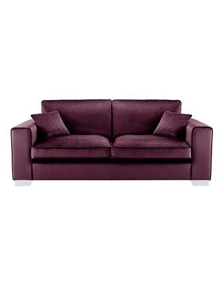 Fashion World Luciano 3 Seater Standardback Sofa