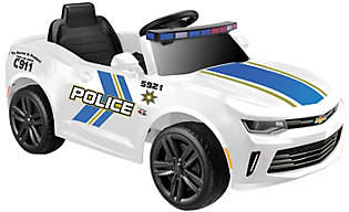 Kid Motorz Camaro Police Edition One-Seater 6VRide-On Car
