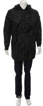 Karl Lagerfeld by Nylon Puffer Parka