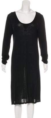 Creatures of Comfort Linen Midi Dress