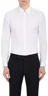 Paul Smith Men's Cotton-Blend Poplin Dress Shirt - White